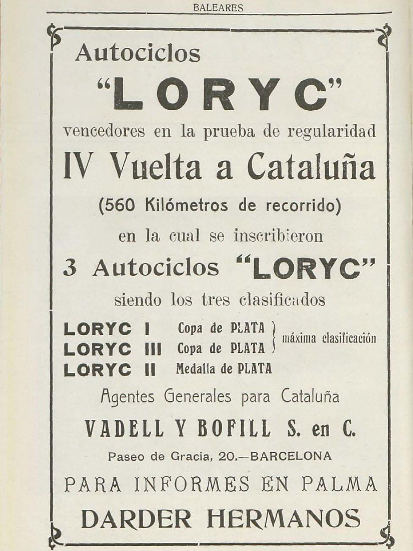 "Gewinner bei der ""IV Vuelta a Cataluna"""